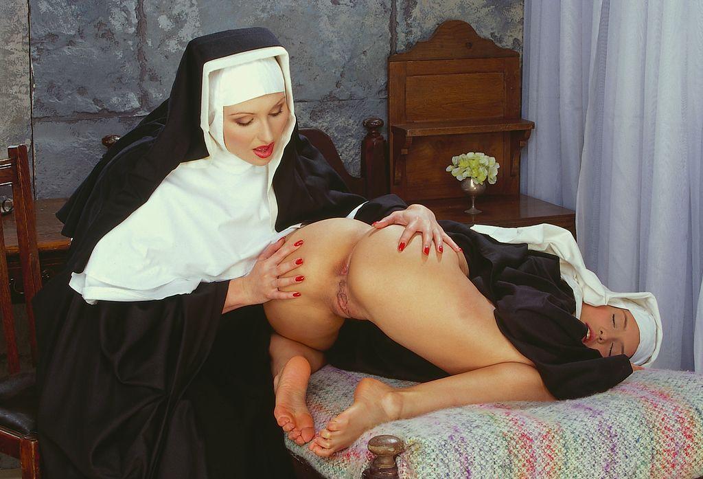 Nun doing anal sex