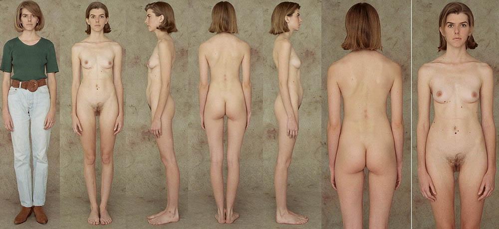 фото тощих голых женщин