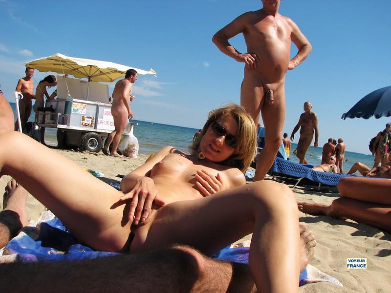 нудисский пляж порно